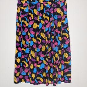 Vintage Katies feather design skirt size 12